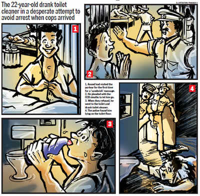 Youth attempts suicide at a massage parlour