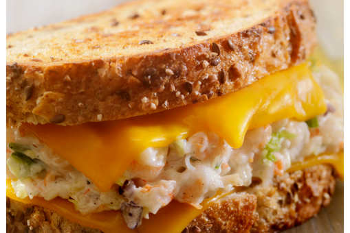 Toasted Seafood Sandwich