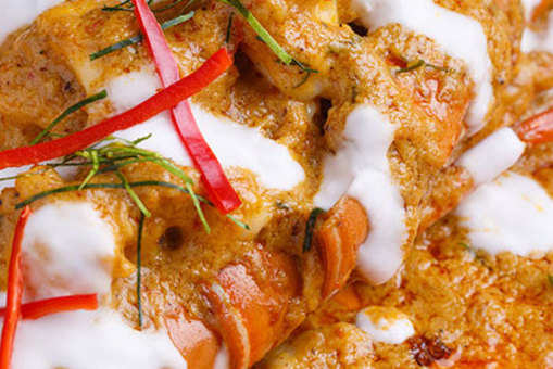Lobster Curry With Coconut Milk