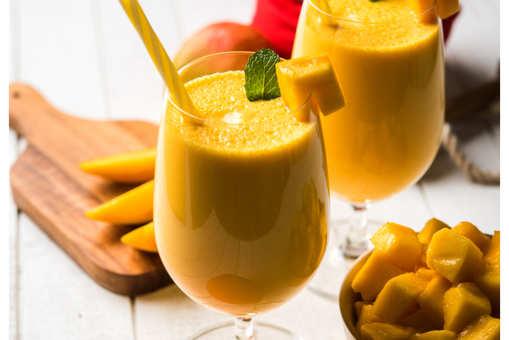 Mango Mint Lassi