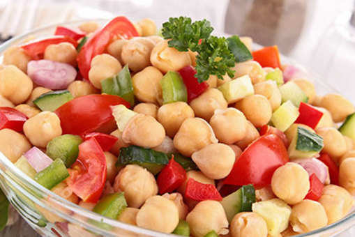Chickpea and Cherry Tomato Salad