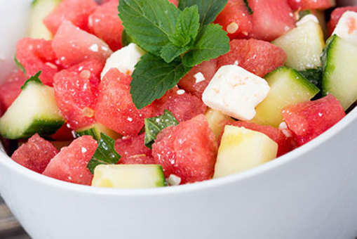 Tangy Melon Salad