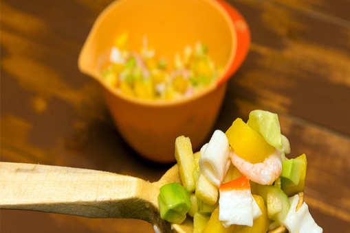 Crab Mango Salad