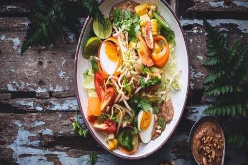 Peanut Egg Salad
