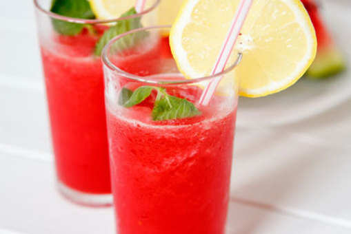 Watermelon and Cucumber Juice