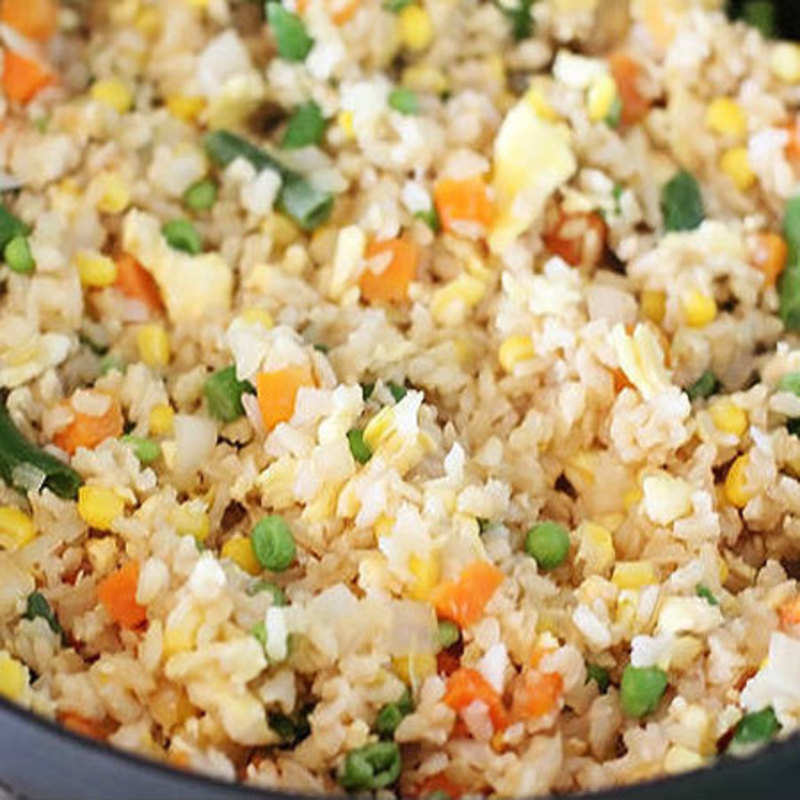 Vegetable Fried Rice With Egg Recipe How To Make Vegetable Fried Rice With Egg Recipe Homemade Vegetable Fried Rice With Egg Recipe