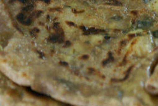 Egg Stuffed Chapati