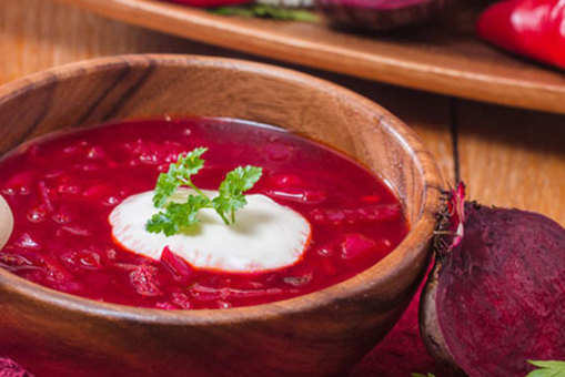 Carrot and Beetroot Shorba