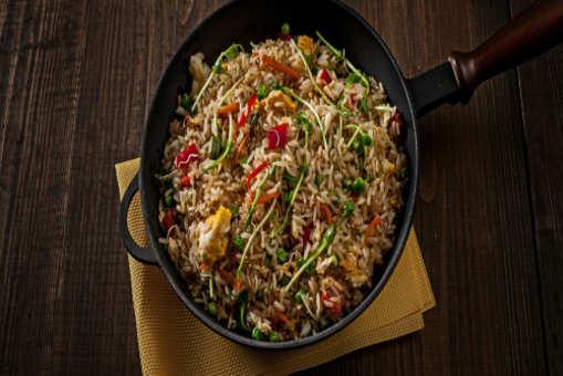 Brown Rice Dum Biryani