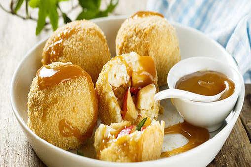 Apple and Banana Dumplings