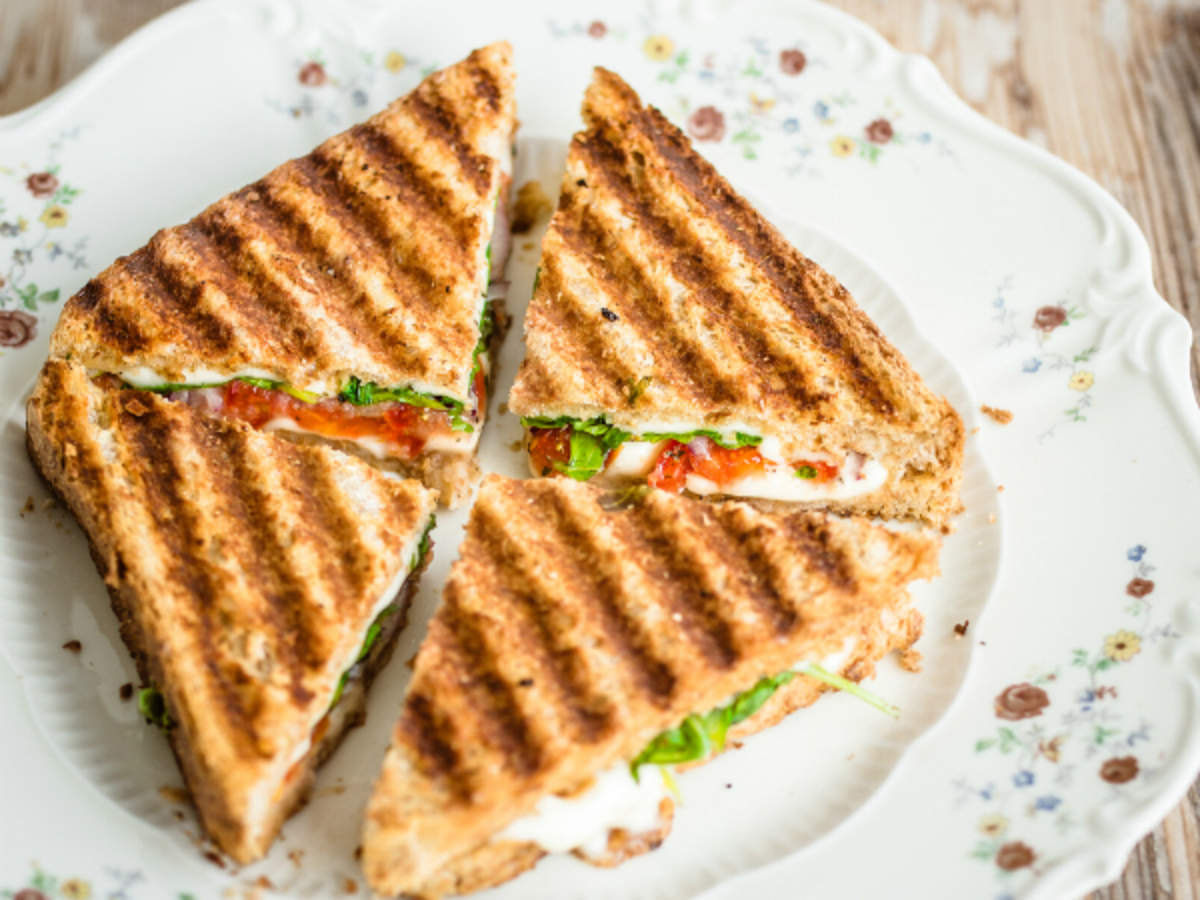Sandwich Recipe How To Make Bombay Grilled Sandwich Recipe At Home Homemade Sandwich Recipe Times Food