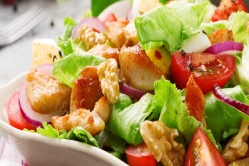 Chicken Salad with a Tuscan Twist