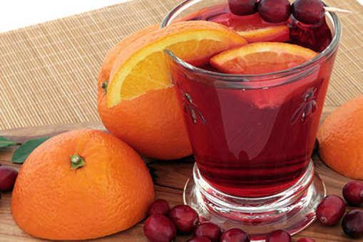 Orange and Cranberry Juice