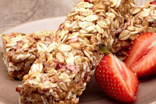 Mixed Berries Breakfast Bars