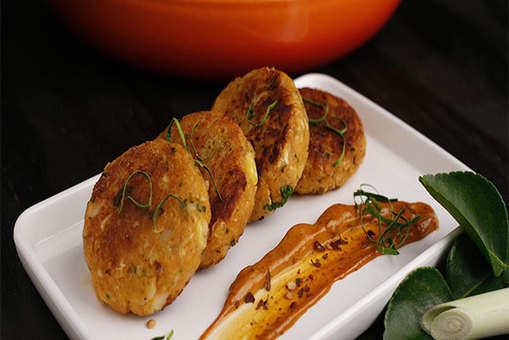 Thai Corn Falafel