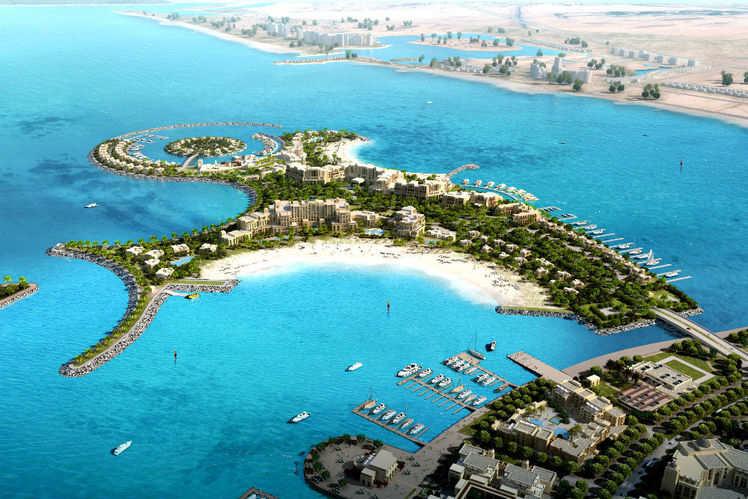 Image result for al marjan island