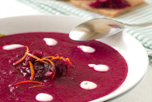 Beetroot and Orange Soup