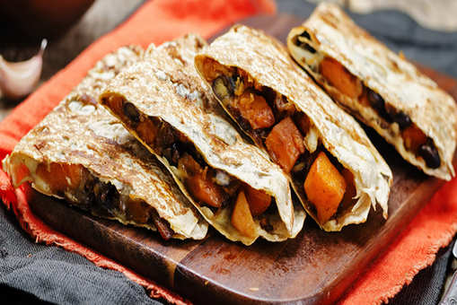 Black Bean and Pepper Jack Quesadillas