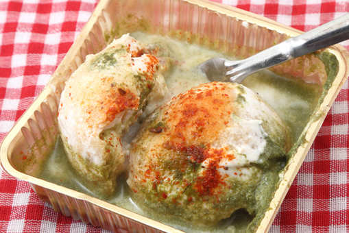 Bread Stuffed Dahi Vada