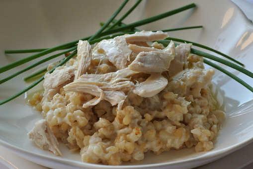 Homemade Chicken Risotto