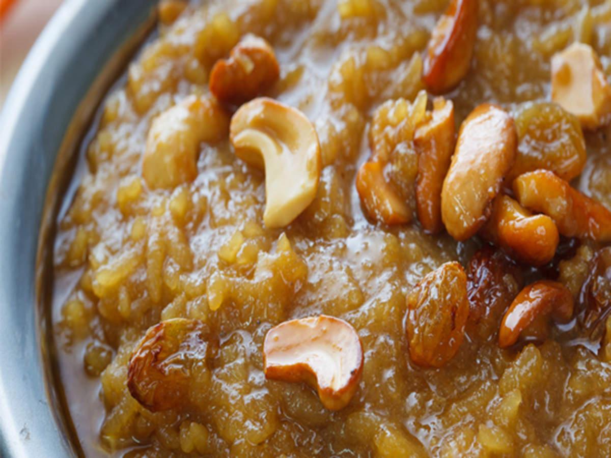 Havva Chakkara Pongal Recipe How To Make Havva Chakkara Pongal For Navratri Homemade Chekkara Pongal Recipe Times Food
