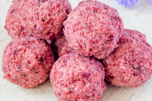 Beetroot Laddoo