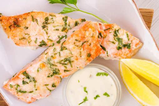 Cheesy Baked Salmon
