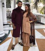 Ranveer Singh and Deepika Padukone go the royal way