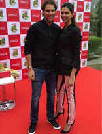 Deepika Padukone's rendezvous with Rafael Nadal