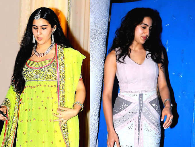 Then and now: Sara Ali Khan