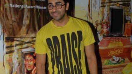 Ayushmann Khurrana talks about his upcoming films