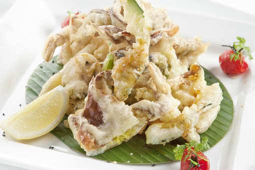 Crab Quesadillas with Mango Salsa