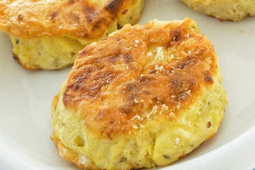 Corn and Potato Tikki