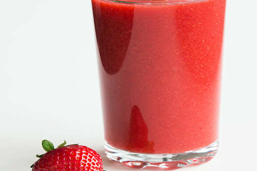 Strawberry and Cucumber Juice