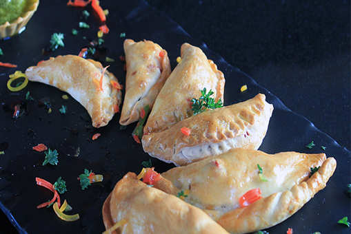 Baked Savoury Italian Gujiya