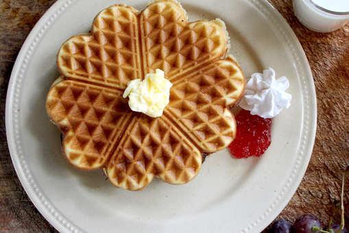 Oatmeal Banana Waffle