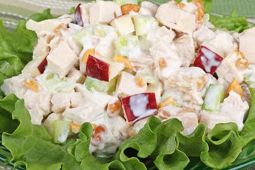 Lemony Yoghurt Salad