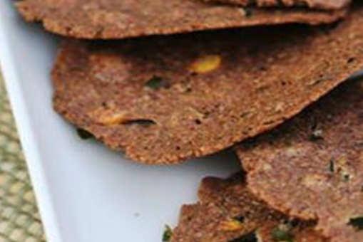 Ragi and Oat Crackers