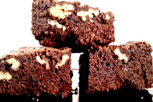 Fudgy Gooey American Walnut Brownie