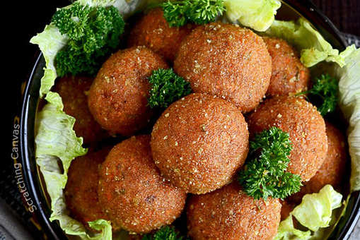 Skinny Baked Vegan Meatballs