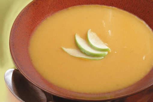 Speedy Apple Squash Soup