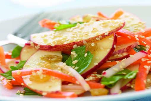 Apple Sesame Salad