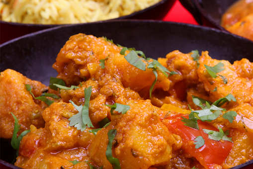 Green Chilli and Aloo Curry