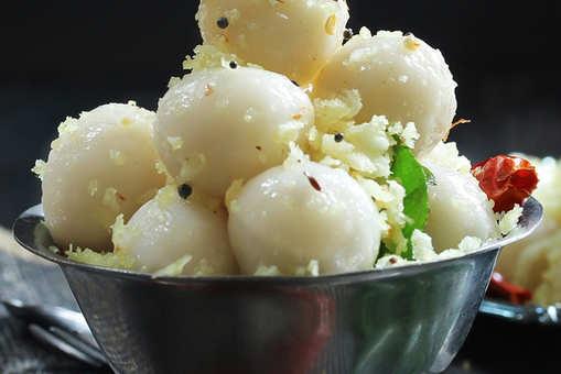 Coconut dumplings