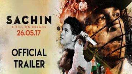 Sachin - A Billion Dreams: Official trailer