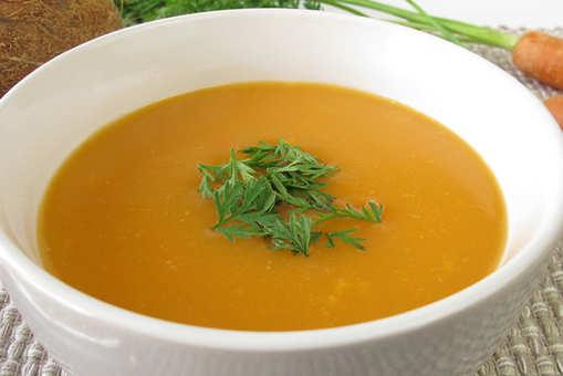 Milky Carrot Soup