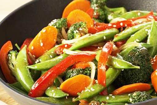 Pan Fried Vegetables