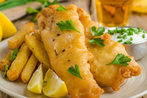 Deep Fried Cod