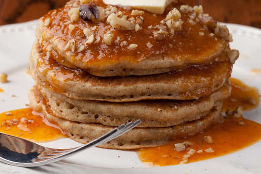 Whole Wheat Pancake with Banana