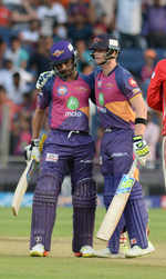 Rising Pune Supergiants seal place in playoffs after beating Kings XI Punjab